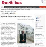 Andrew Wigford featured in Penarth Times
