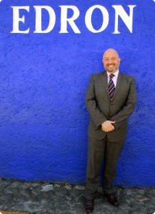 Eamonn Mullally, Headteacher of Edron Academy