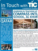 TIC Newsletter April 2013 - Qatar