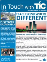 TIC Newsletter April 2013 - Kazakhstan