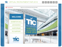10 reasons why you should attend TIC's Virtual Recruitment Fair