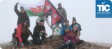 BSME Newsletter - TIC raise over £1,000 in climb for Kathmandu