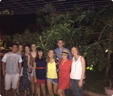 Ron with his teacher friends on a weekend away in Hoi An